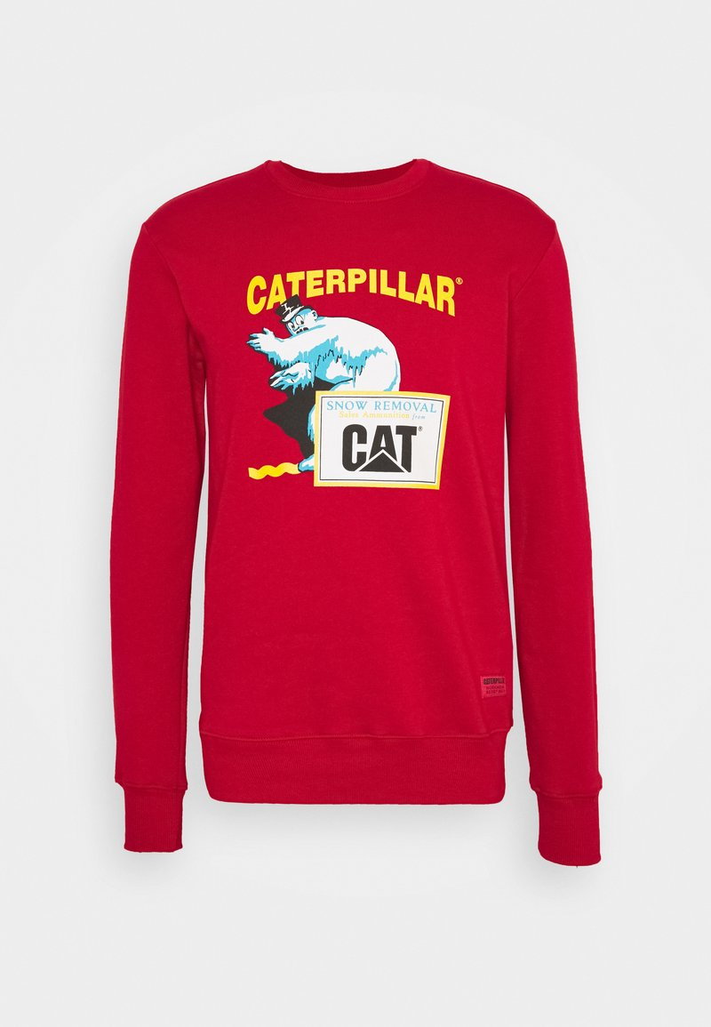 Caterpillar - ICE MAN GRAPHIC  - Sweatshirt - red