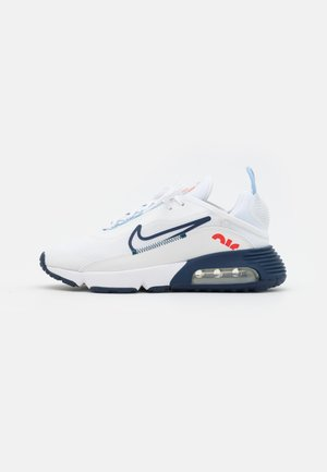 AIR MAX 2090 UNISEX - Sneakers basse - white/chile red/midnight navy