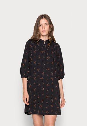 ELLIE DRESS - Shirt dress - chocolate