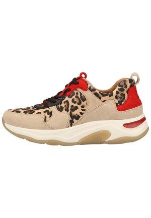 SNEAKER - Sneakers laag - natur/desert/flame 64