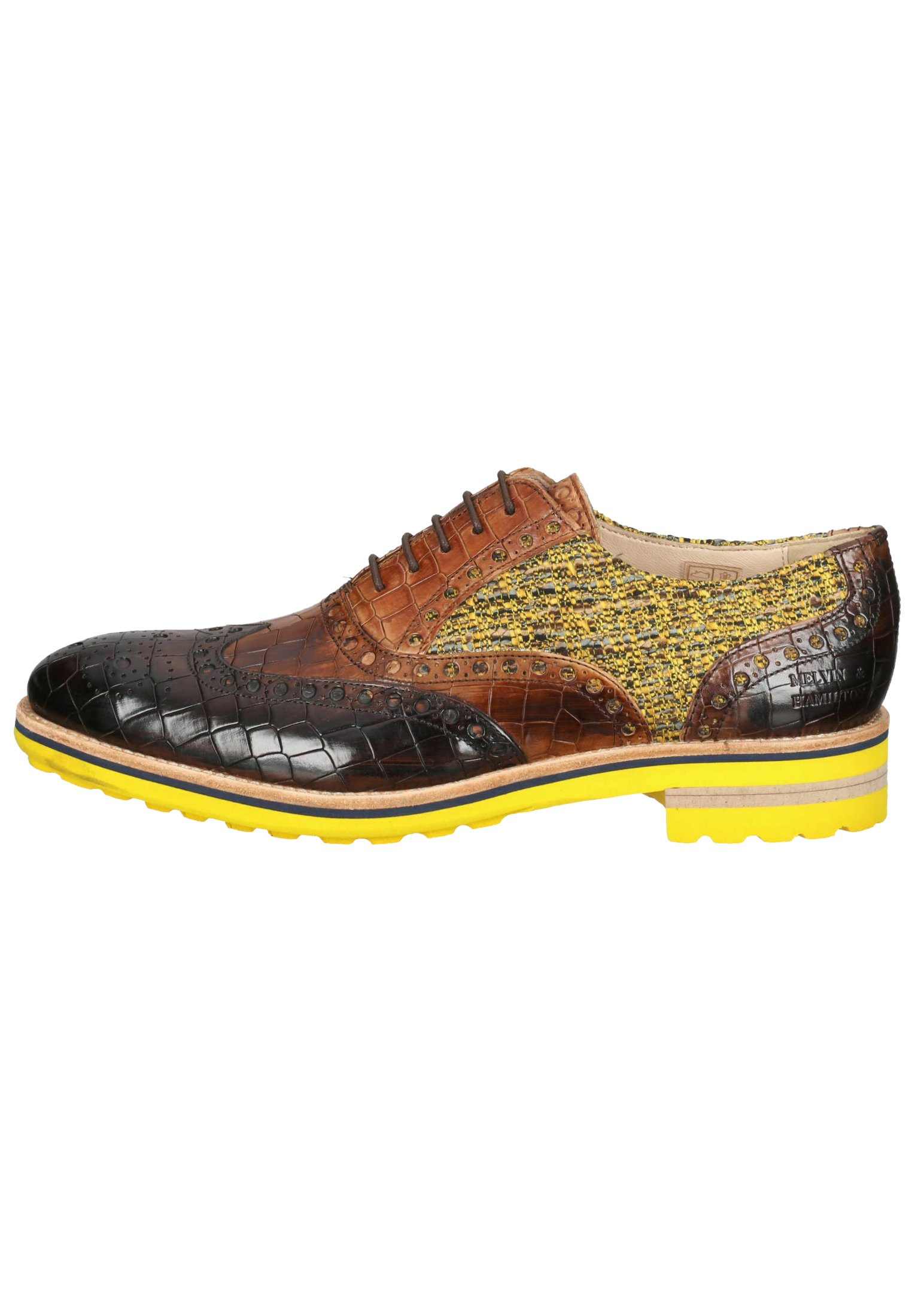 Homme Chaussures à lacets - crock mid brown tom