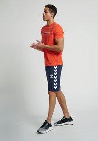 Hummel - Sports shorts - blue nights - 1