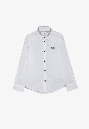 LANGARM SLIM FIT - Overhemd - weiss
