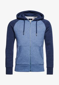 Superdry - Zip-up hoodie - slate blue grit - 3