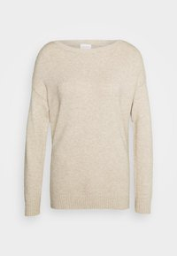 Vila - VIRIL  - Jumper - natural melange - 0