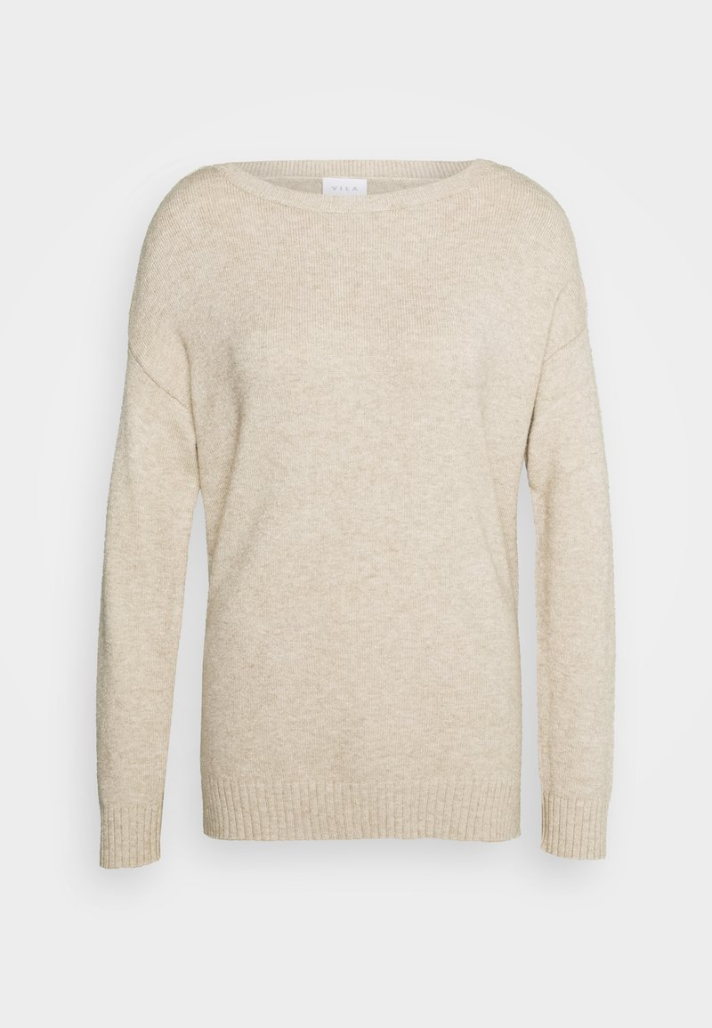 Vila - VIRIL  - Jumper - natural melange