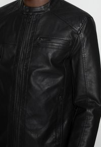Only & Sons - ONSAL  - Faux leather jacket - black - 4