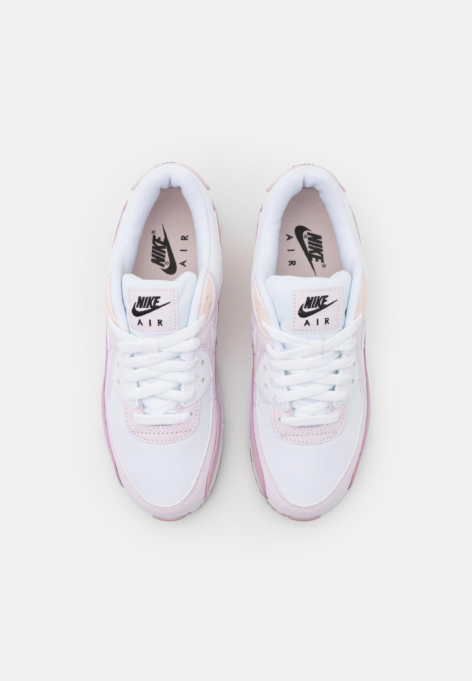 Nike Sportswear AIR MAX 90 - Baskets basses - white/champagne ...