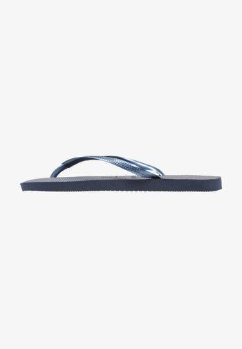SLIM - Pool shoes - dark blue