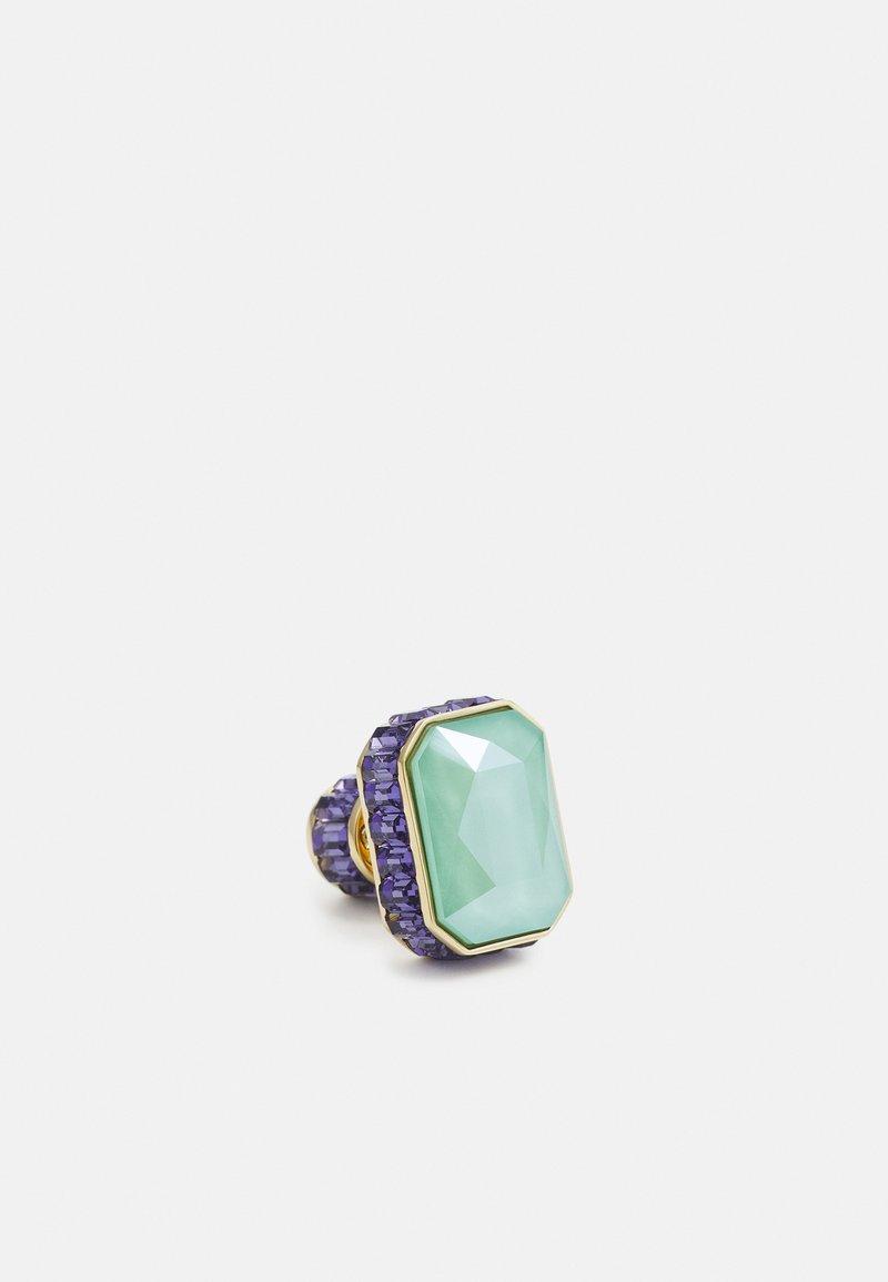 Swarovski - ORBITA SINGLE EARRING - Earrings - mint green