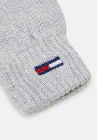 Tommy Jeans - BASIC FLAG GLOVES - Rękawiczki pięciopalcowe - grey - 2