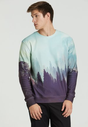 OLD FOREST  - Sweatshirt - blue