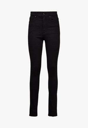 KAFEY ULTRA HIGH SKINNY - Jeans Skinny Fit - pitch black