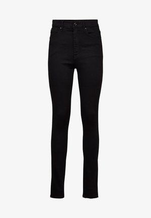 KAFEY ULTRA HIGH SKINNY - Jeans Skinny Fit - pitch black