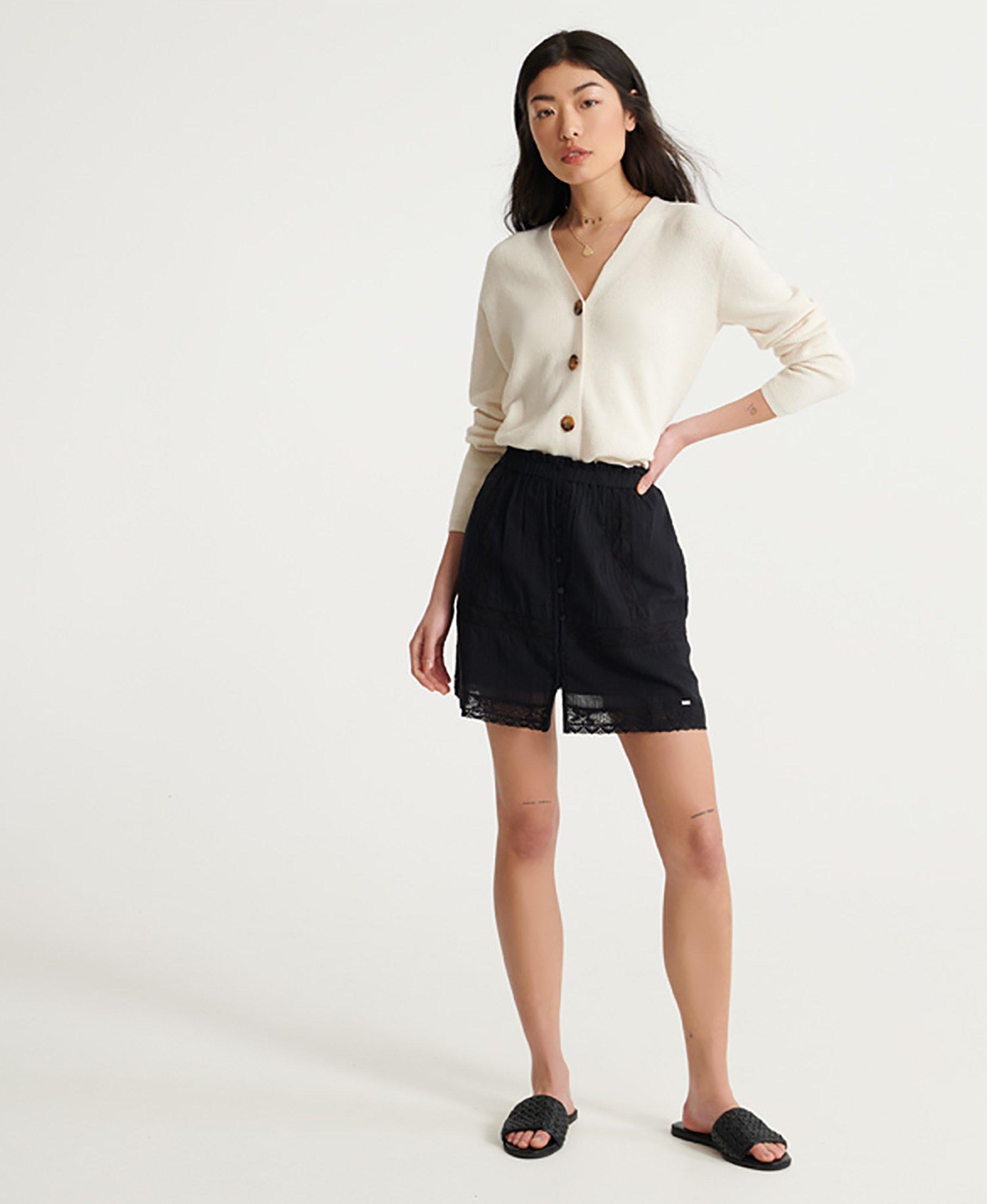 Women ELLISON TEXTURED - Mini skirt