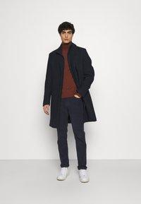 Esprit Collection - COAT - Classic coat - dark blue - 1