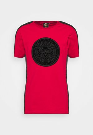 DONAEO TEE - T-shirt med print - red
