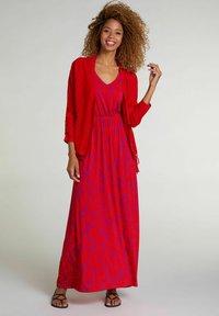 Oui - Maxi dress - red violett - 0