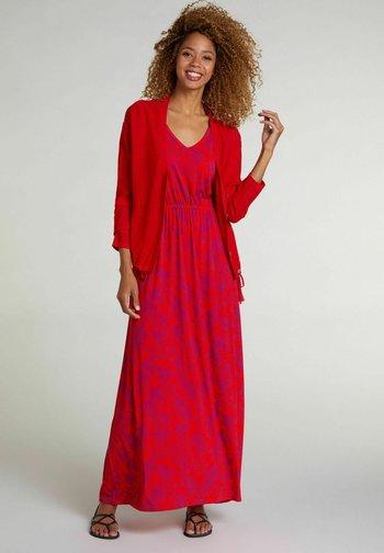 Maxi dress - red violett