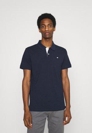 BASIC WITH CONTRAST - Polo shirt - sailor blue