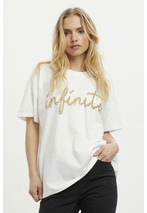KANELLI  - Print T-shirt - chalk