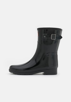 REFINED SHORT GLOSS VEGAN - Wellies - black