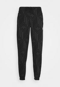 adidas Originals - MONO - Spodnie treningowe - black/boonix - 3
