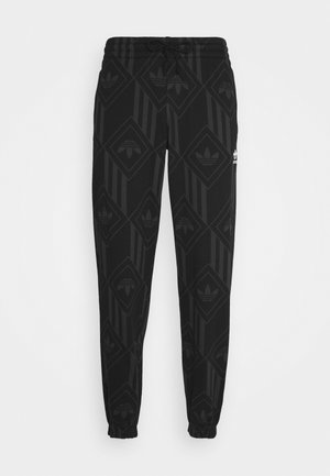 MONO - Tracksuit bottoms - black/boonix