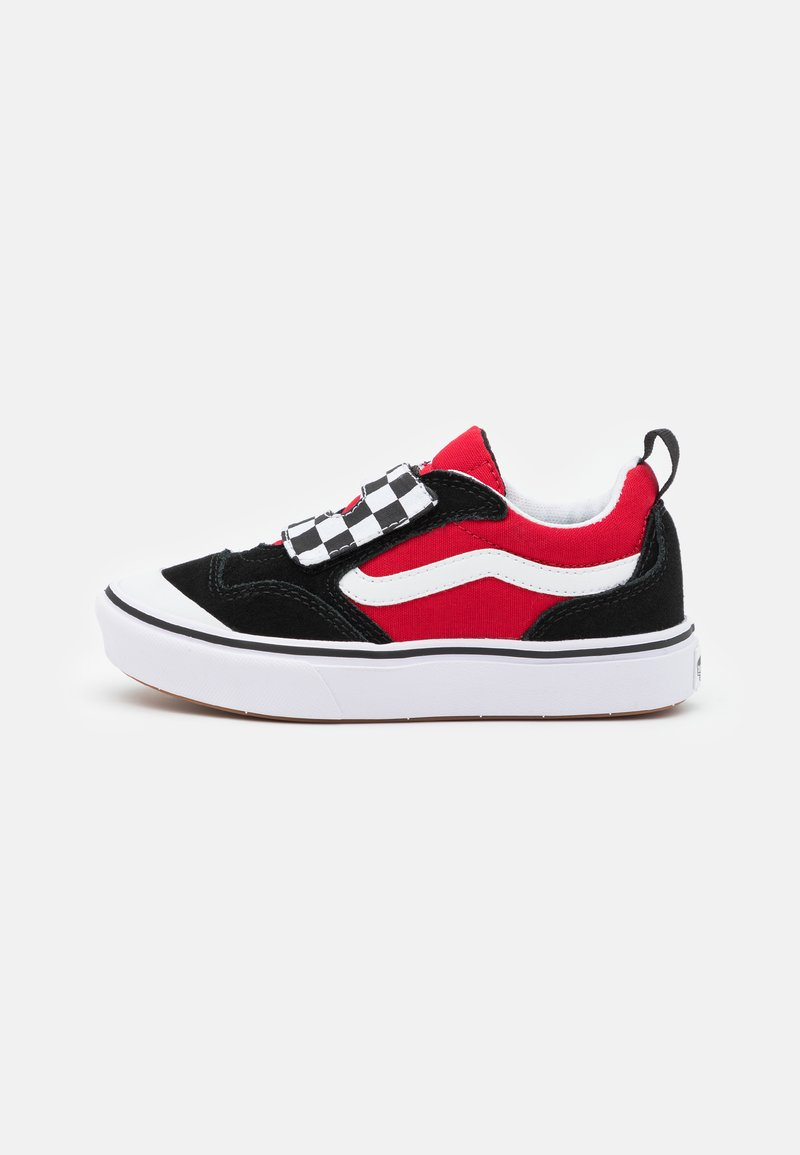 Vans - COMFYCUSH NEW SKOOL UNISEX - Trainers - black/red