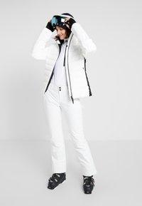 Bogner Fire + Ice - CANDRA - Kurtka narciarska - white/black - 1