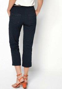 TONI - SUE - Trousers - darkblue - 2