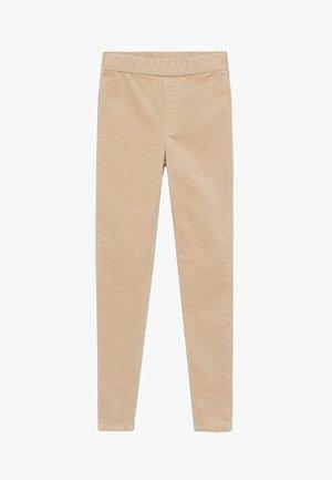 SNOWY - Trousers - open beige