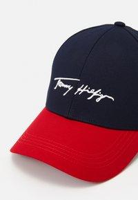 Tommy Hilfiger - SIGNATURE UNISEX - Cap - blue - 3