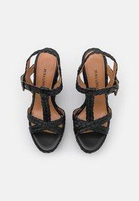 Pura Lopez - Sandály na platformě - black - 4