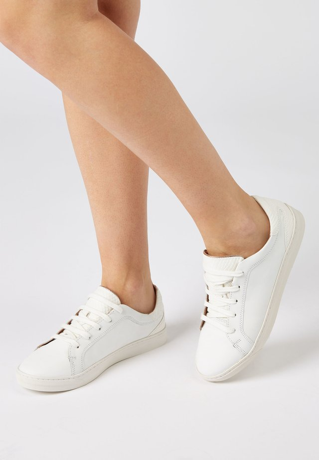 WHITE SIGNATURE  - Sneakers laag - white