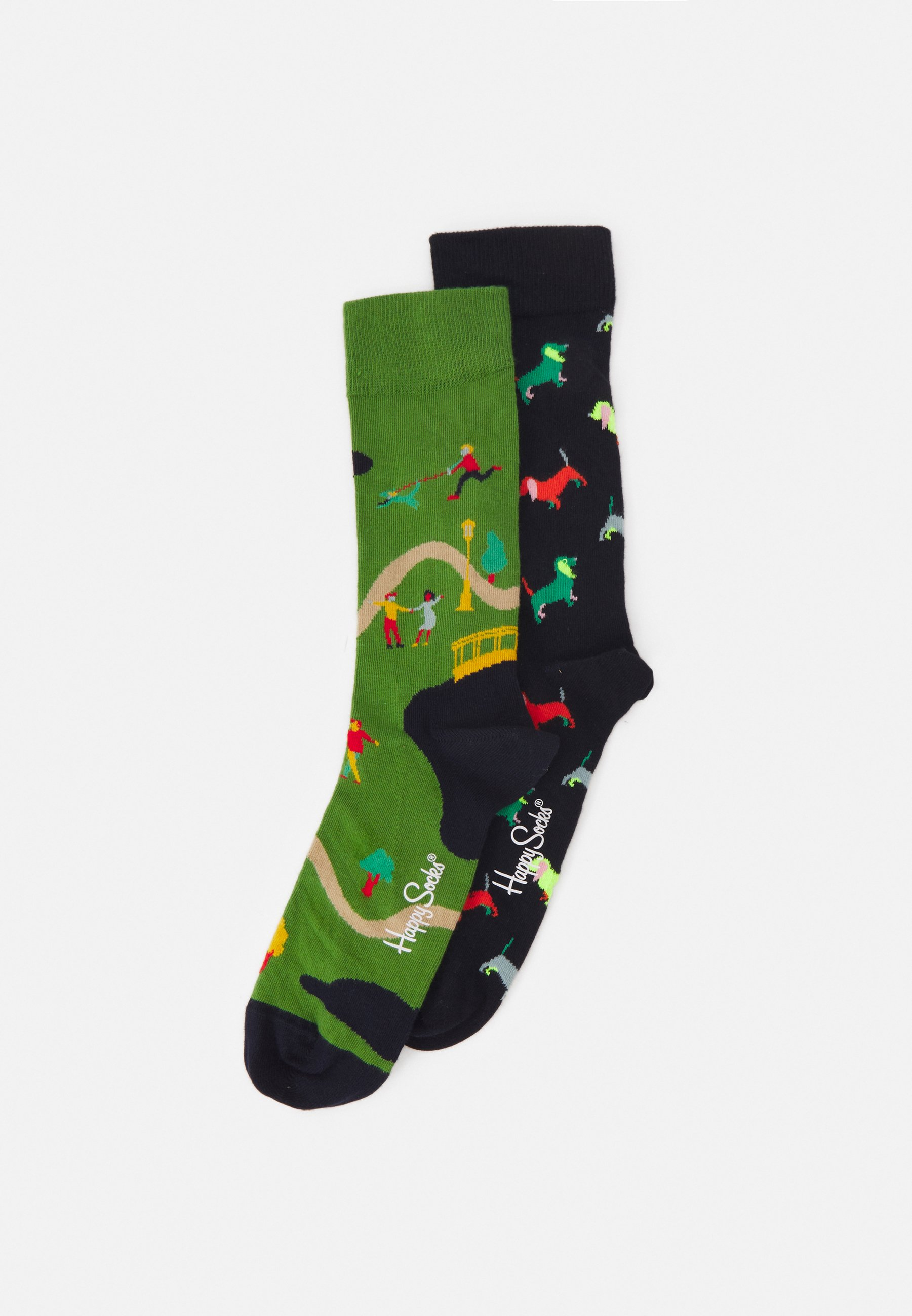Donna WALK IN THE PARK PUPPY LOVE 2 PACK UNISEX - Calze