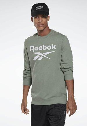 VECTOR BIG LOGO GRAPHIC SWEATSHIRT - Sweatshirt - green