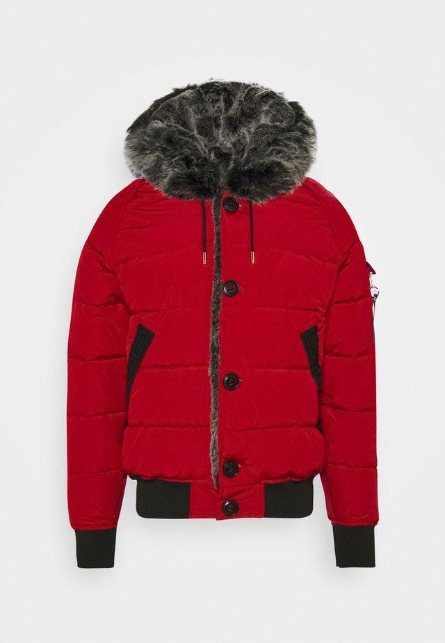 NAVIER - Winter jacket - red