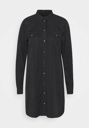 VMSILLA SHORT DRESS MIX  - Abito a camicia - black