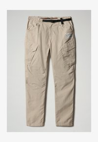 Napapijri - M-HONOLULU - Cargo trousers - natural beige - 3