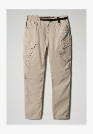 M-HONOLULU - Pantalones cargo - natural beige
