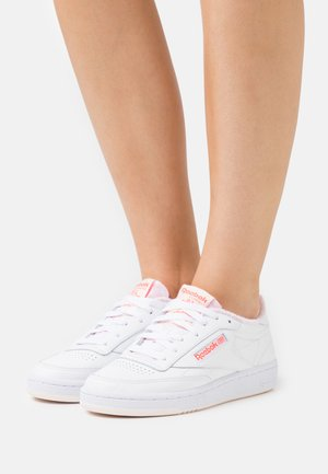 CLUB C 85 - Sneakers basse - white/ceramic pink/orange flare