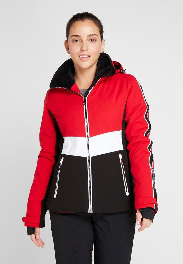 JAKKA - Soft shell jacket - red