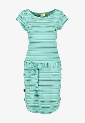 Jersey dress - emerald