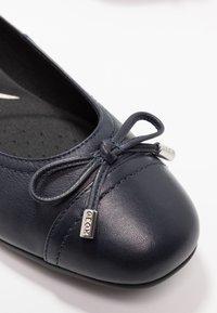 Geox - ANNYTAH - Ballet pumps - navy - 2