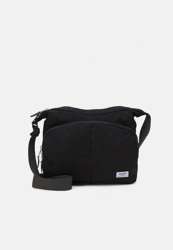 SHOULDER BAG UNISEX - Across body bag - black