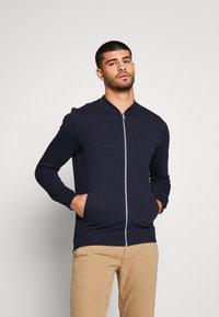 TOM TAILOR DENIM - Zip-up hoodie - sky captain blue - 0