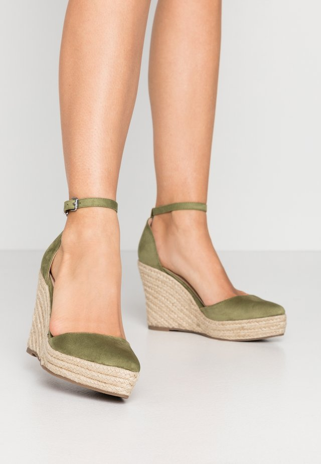 FYNN - Zapatos altos - khaki