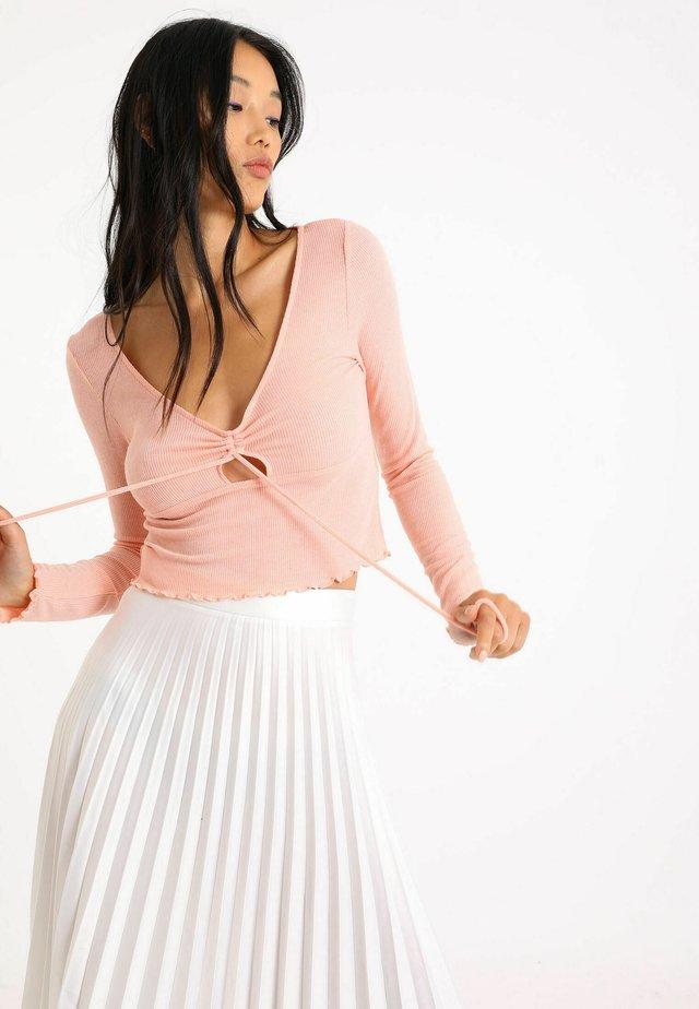 MIT LANGEN ÄRMELN - Långärmad tröja - rosa