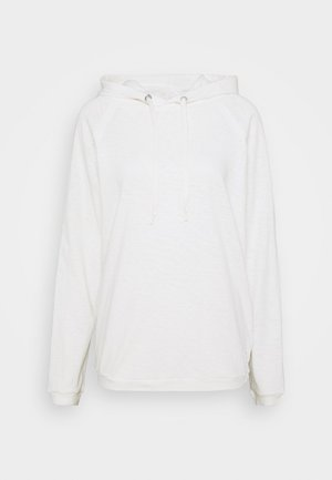 LONG SLEEVE - Mikina s kapucí - scandinavian white